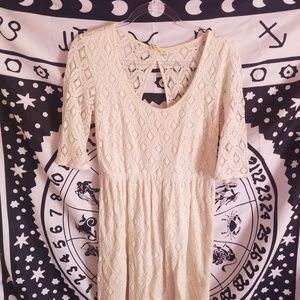 Roxy White Lace Dress